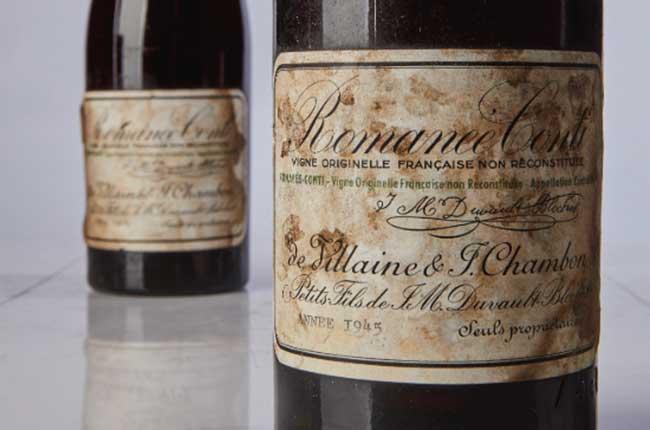 1945 Romanee-Conti Wine