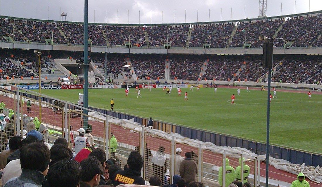 Estádio Azadi, Teerã, Irã