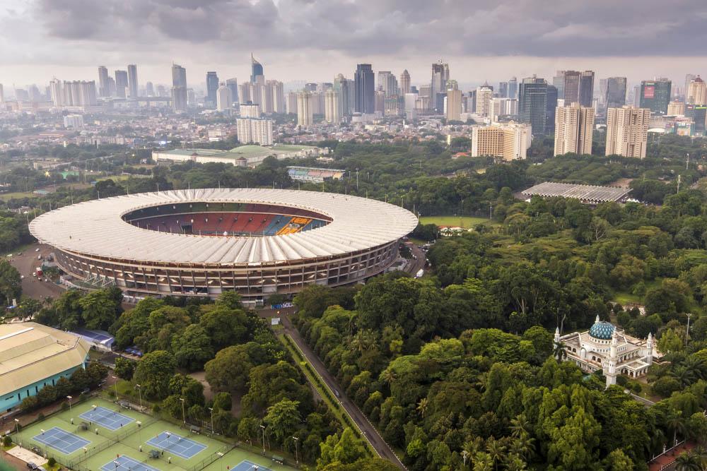 Estádio Gelora Bung Karno, Jacarta, Indonésia