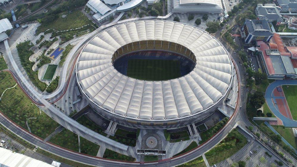 Estádio Nacional Bukit Jalil, Kuala Lumpur, Malásia