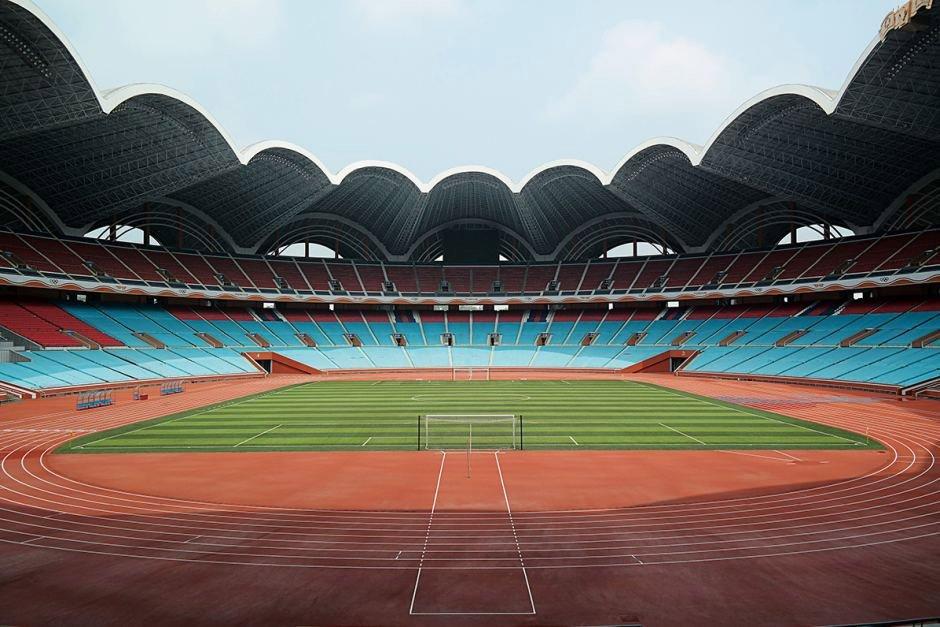 Estádio Primeiro de Maio Rungrado, Pyongyang, Coreia do Norte