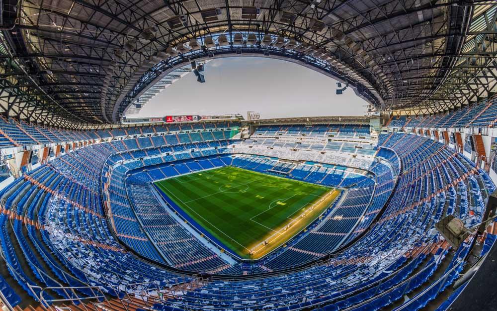Estádio Santiago Bernabéu, Madrid, Espanha