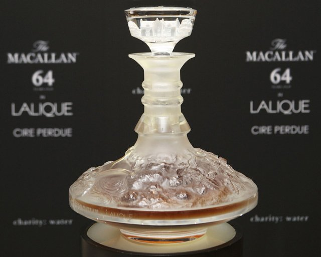 Macallan 64 Year Old In Lalique