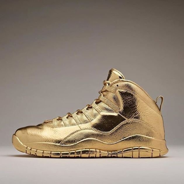 Solid Gold OVO x Air Jordans