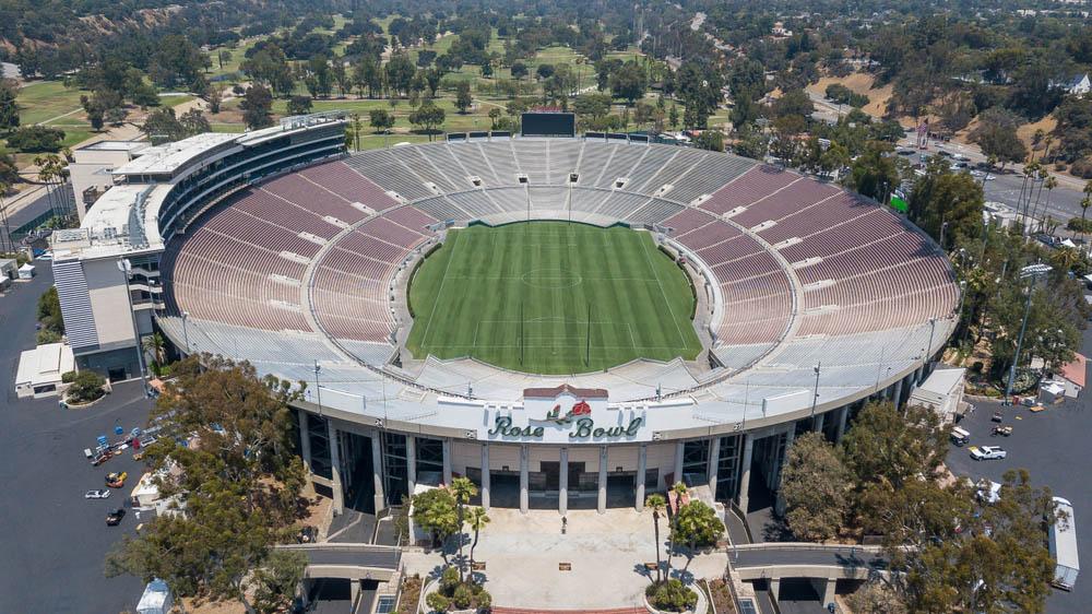 The Rose Bowl, Pasadena, EU
