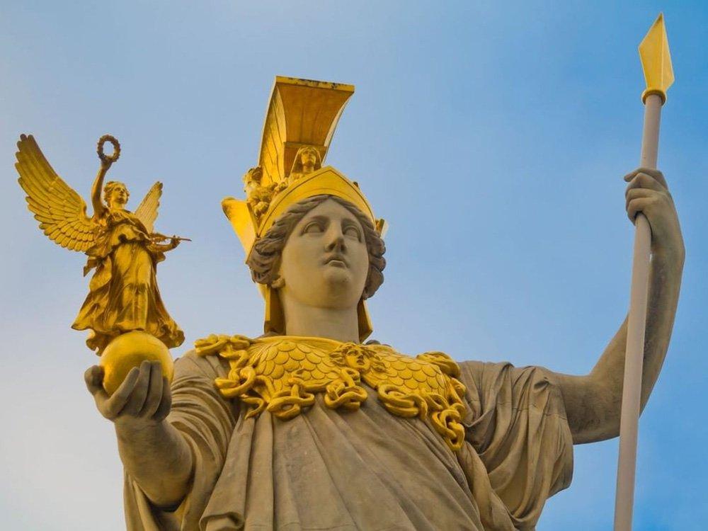 Atena (Deusa da Sabedoria e da Guerra)