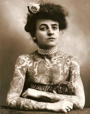 Tatuagens na década de 1910