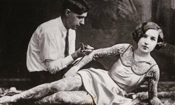 Tatuagens na década de 1920