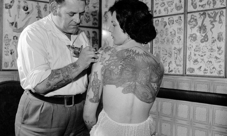 Tatuagens na década de 1930