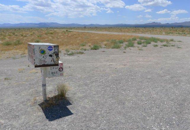 A caixa de correio alienígena