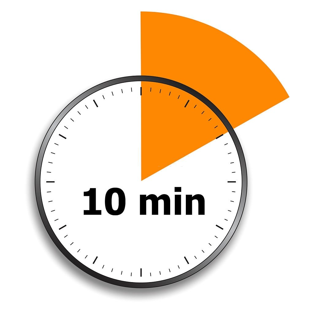 A regra dos dez minutos