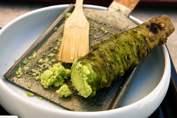 A maioria dos supermercados wasabi é na verdade rábano