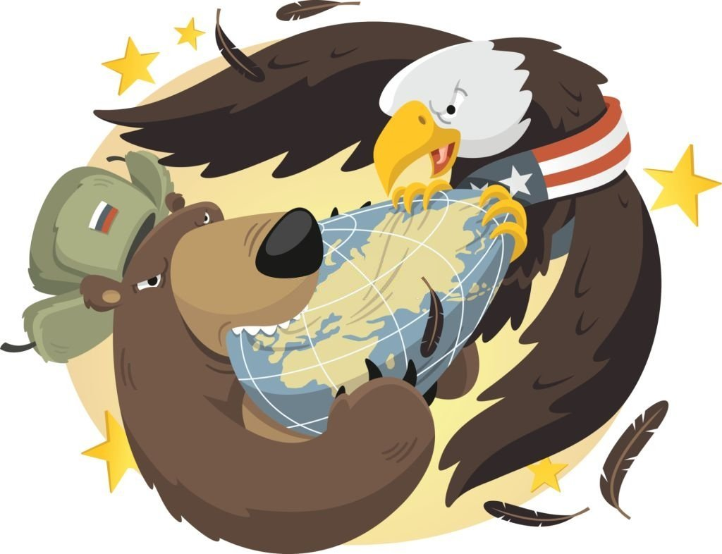 As bombas nucleares de alerta máximo dos EUA e da Rússia