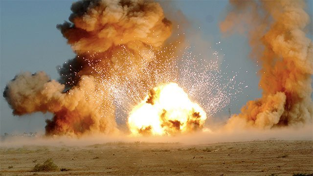 Barotrauma induzido pela explosão