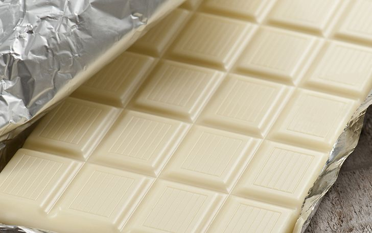 O chocolate branco não é chocolate