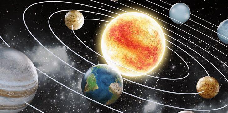 O nosso sistema solar tem 4,57 bilhões de anos