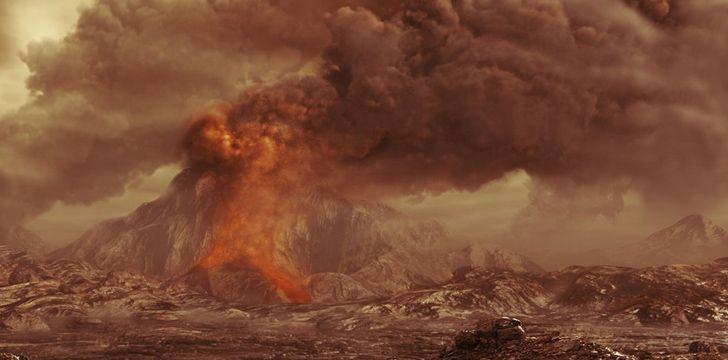 O planeta mais quente do nosso sistema solar é Vénus