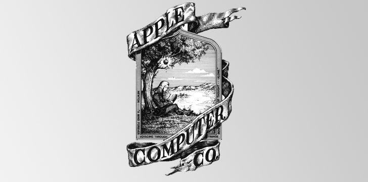 O primeiro logotipo da Apple não é o que você pensaria