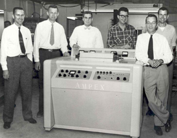 O primeiro videocassete de sempre foi do tamanho de um piano